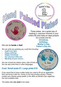 Hand painted plates.2015newpricespub